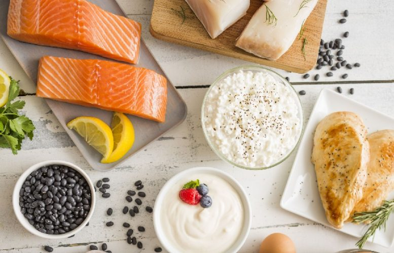 salmon eggs and cottage cheese