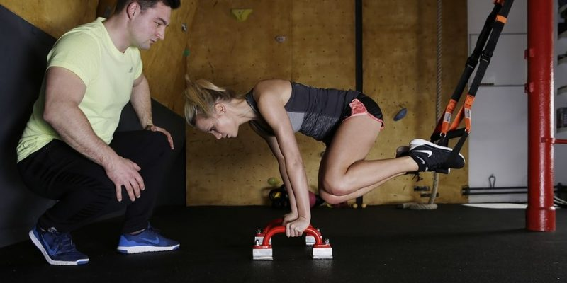 Women Workout in Gym